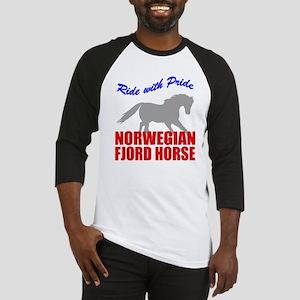 rwp-norwegian-fjord-horse Baseball Tee