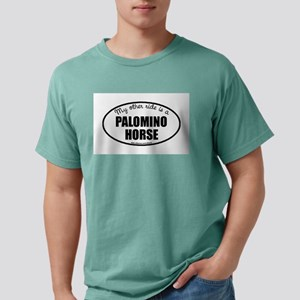 Palomino Horse Gifts Mens Comfort Colors® Shi
