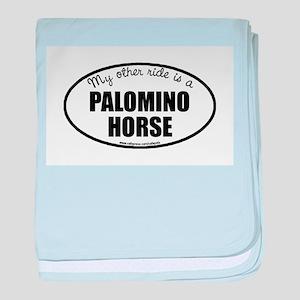 Palomino Horse Gifts baby blanket