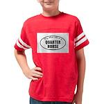 Quarter Horse Youth Football Shirt