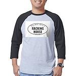 Racking Horse Mens Baseball Tee