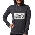 Shire Horse Womens Hooded Shirt