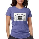 Shire Horse Womens Tri-blend T-Shirt
