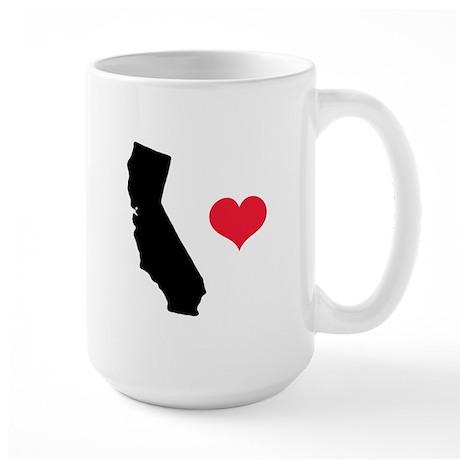 California Love Large Mug