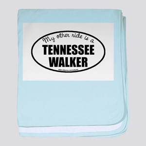 Tennessee Walking Horse Gifts baby blanket