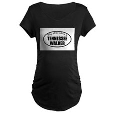 Tennessee Walking Horse Gifts Maternity Dark T-Shi