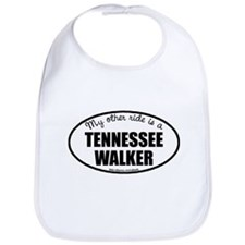 Tennessee Walking Horse Gifts Cotton Baby Bib