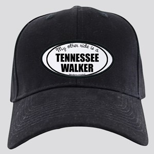 Tennessee Walking Horse Gifts Black Cap with Patch