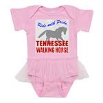 rwp-tennessee-walking-horse Baby Tutu Bodysuit
