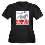 rwp-tennessee-walking-horse Women's Plus Size V-Ne