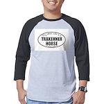 Trakehner Horse Gifts Mens Baseball Tee