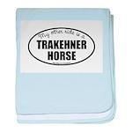 Trakehner Horse Gifts baby blanket