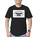 Trakehner Horse Gifts Men's Fitted T-Shirt (da