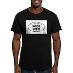 Welsh Horse Men's Fitted T-Shirt (dark)