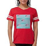 Flamingo Gifts Womens Football Shirt