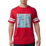 Flamingo Gifts Mens Football Shirt