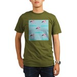 Flamingo Gifts Organic Men's T-Shirt (dark)