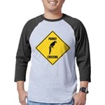 crossing-sign-parrot Mens Baseball Tee