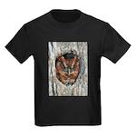 Owl Gifts Kids Dark T-Shirt