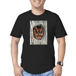 Owl Gifts Men's Fitted T-Shirt (dark)