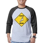 crossing-sign-cockatoo Mens Baseball Tee