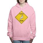 crossing-sign-cockatoo Women's Hooded Sweatshirt