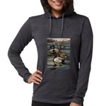 Duck Gifts Womens Hooded Shirt