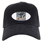 Duck Gifts Black Cap with Patch