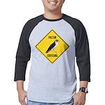 crossing-sign-falcon-2 Mens Baseball Tee