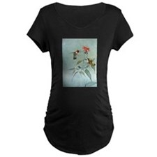 Hummingbird Maternity Dark T-Shirt