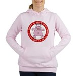 Hippo for Christmas Women's Hooded Sweatshirt