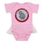 FIN-hippo-talk-tail-NEW Baby Tutu Bodysuit
