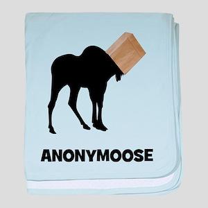 Anonymoose baby blanket