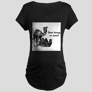 Funny Camels Maternity Dark T-Shirt