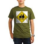 zebra-crossing-sign... Organic Men's T-Shirt (dark