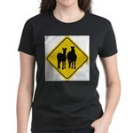 zebra-crossing-sign... Women's Classic T-Shirt