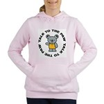 Funny Koala Women's Hooded Sweatshirt
