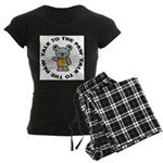 Funny Koala Women's Dark Pajamas