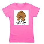 talk-tail-bear-2 Girl's Tee
