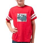 Cartoon Rhino Youth Football Shirt
