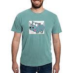 Cartoon Rhino Mens Comfort Colors® Shirt