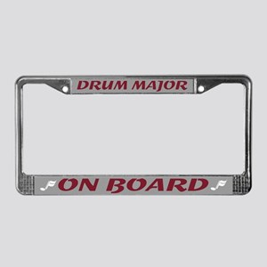 Drum Major License Plate Frame