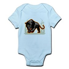 Black Panther Baby Light Bodysuit