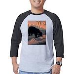 bear-CROP-text Mens Baseball Tee
