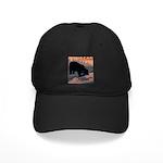 bear-CROP-text Black Cap with Patch
