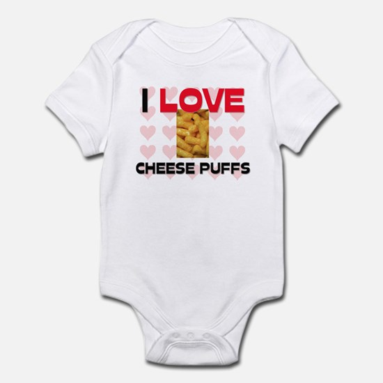 I Love Cheese Puffs Infant Bodysuit