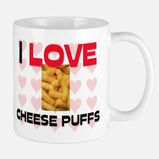 I Love Cheese Puffs Mug
