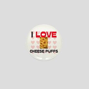 I Love Cheese Puffs Mini Button