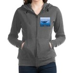 FIN-whale-save-them Women's Zip Hoodie