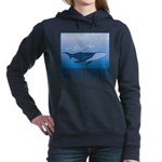 FIN-whale-save-them Women's Hooded Sweatshirt